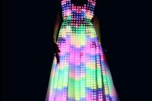 Уже сегодня создают светящиеся ткани со светодиодами