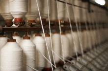 Любая ткань создается из двух нитей - основы и утка