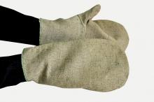 Брезентовые рабочие рукавицы