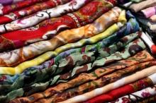 Текстильная промышленность предлагает огромное разнообразие тканей.